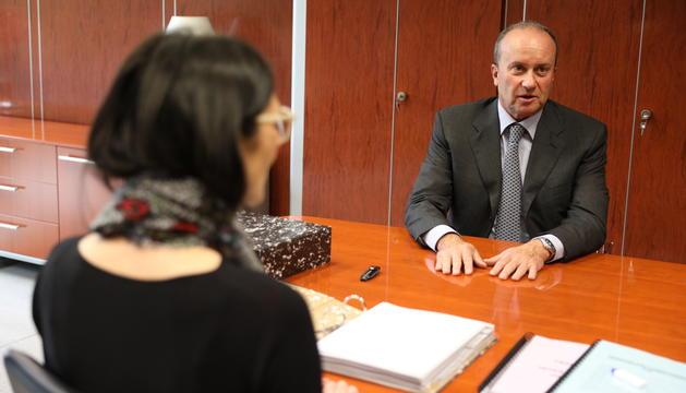 Josep Maria Rossell ocupa ja el despatx de ministre de Justícia i Interior