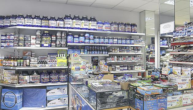 A les botigues especialitzades es poden trobar tot tipus de suplements esportius.