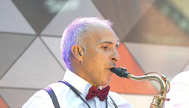Efrem Roca, saxofonista i director artístic del Sax Fest
