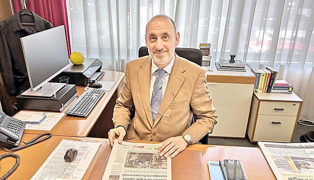 El cònsol General d'Espanya, Antonio Prats