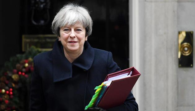 La primera ministra del Regne Unit, Theresa May, deixarà el càrrec el 7 de juny.