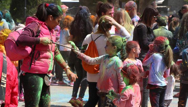 La festa es va celebrar ahir al matí al Prat Gran d'Encamp.