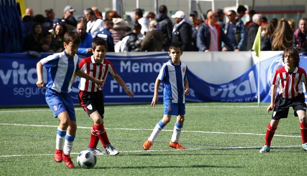 RCDEspanyol i Athletic, en un partit del Memorial.