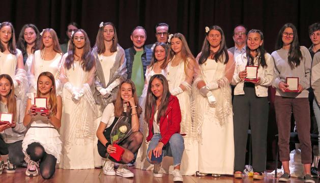 Júlia Gil i Joan Guàrdia guanyen els Jocs Florals