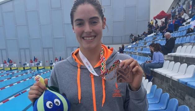 Nàdia Tudó ha aconseguit la medalla de bronze a Montenegro