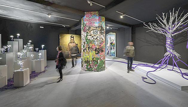 Una imatge del pavelló d'Andorra a la Biennal de Venècia.