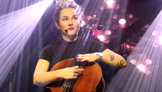 La violoncelista de la jove formació francesa.