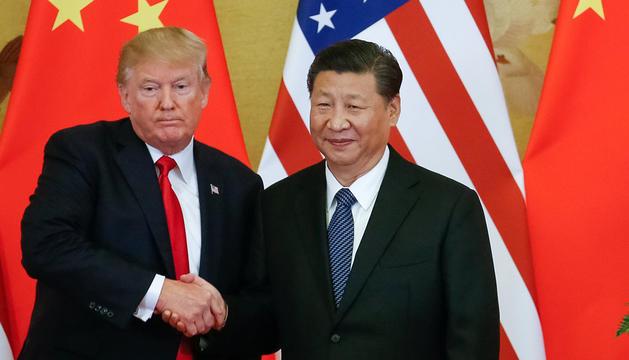 Els presidents dels Estats Units i de la Xina.