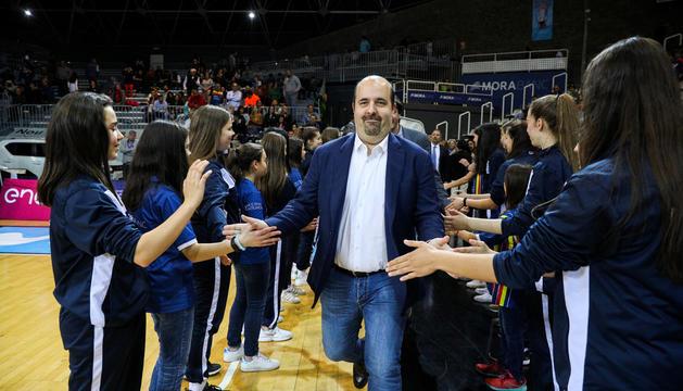 Gorka Aixàs, president del MoraBanc Andorra.