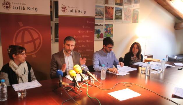 El president del CRES, Joan Micó, ha presentat els resultats de la setena onada de l'Enquesta Mundial de Valors