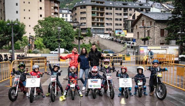 El joves trialers el Dia Mundial del Medi Ambient.
