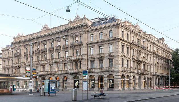 Seu central de Credit Suïsse a Zuric