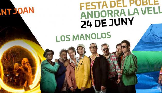 Cartell de la Festa del Poble d'Andorra la Vella 2019