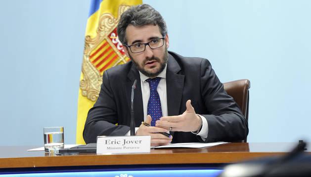 Eric Jover ha explicat els punts tractats i aprovats durant el consell de ministres