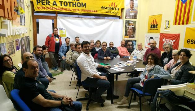 ERC va celebrar assemblea local i comarcal la nit de dimarts.