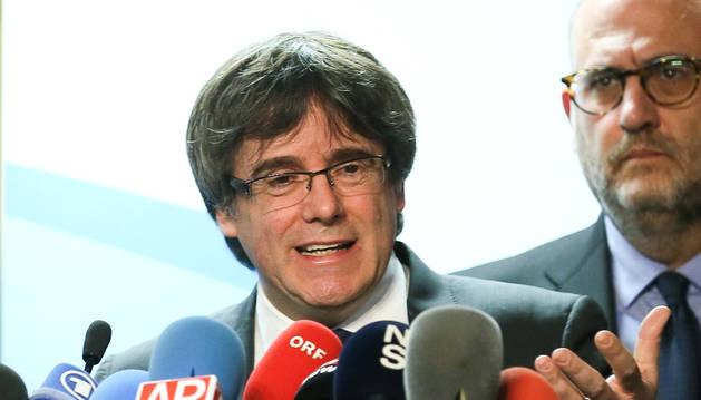 L'ex-president català Carles Puigdemont.