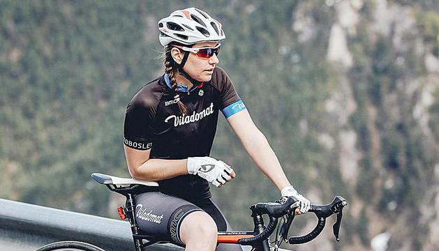 La pilot Margot Llobera va començar practicant ciclisme