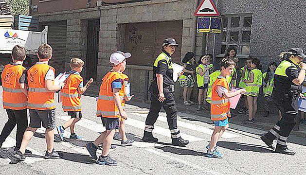 Els infants aprenen a circular de la mà dels urbans