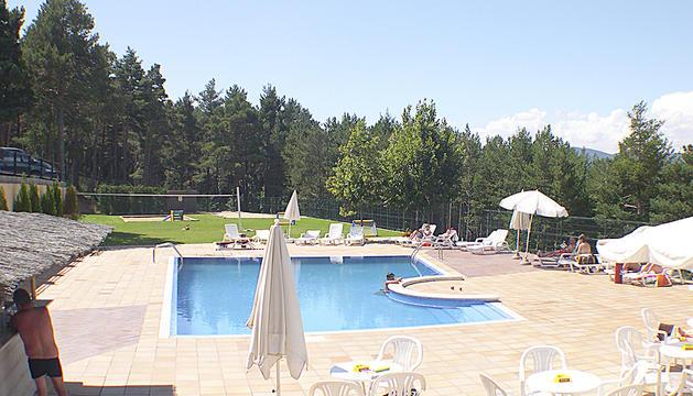 La piscina de l'hotel Comabella