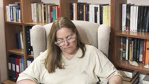 La presidenta d'AMIDA, Agustina Grandvallet