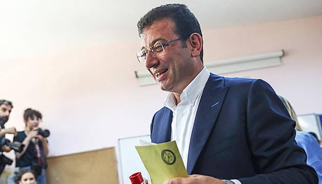 Imamoglu es va imposar amb el 53,9% dels vots.