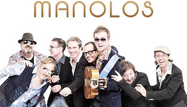 Los Manolos, en sessió vermut