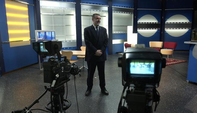 Enric Castellet, en una imatge del 2004, quan dirigia l'ens.