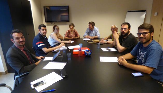 Primera reunió del nou comitè executiu del PS