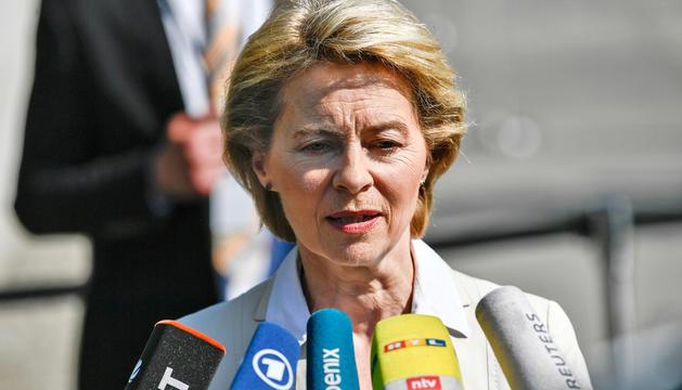 Ursula von der Leyen, nominada ahir per presidir la Comissió Europea.