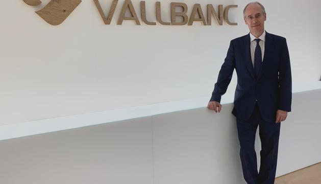 El nou director general de Vall Banc, José Luís Dorado.