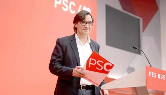 El secretari d'Organització del PSC, Salvador Illa.