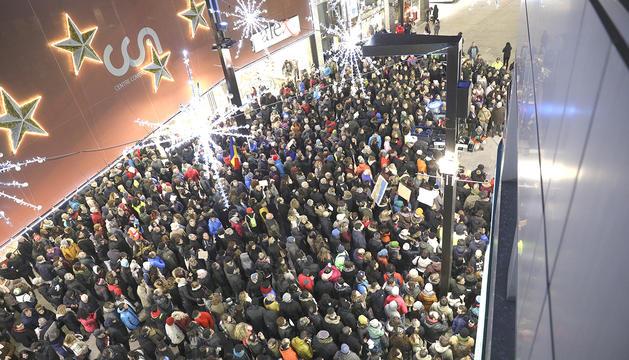 Milers de persones van protestar contra el Govern el passat 17 de desembre.
