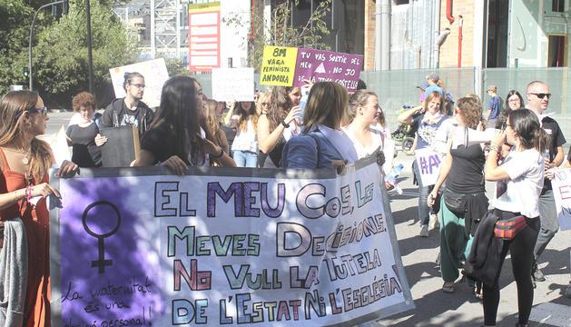 Al setembre es va celebrar la primera marxa per demanar la despenalització de l'avortament a Andorra.