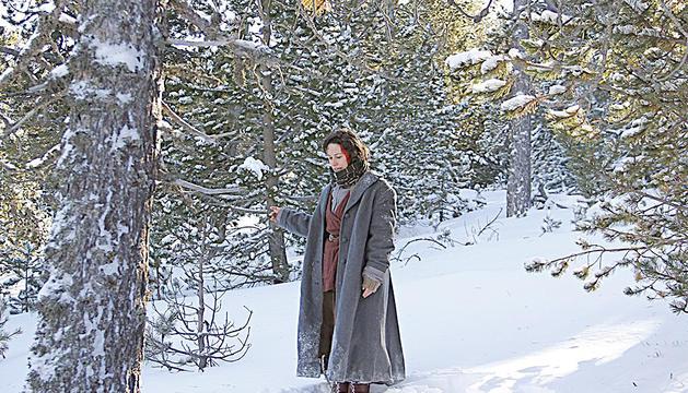 L'actriu catalana, en una imatge del curt rodat a Andorra.