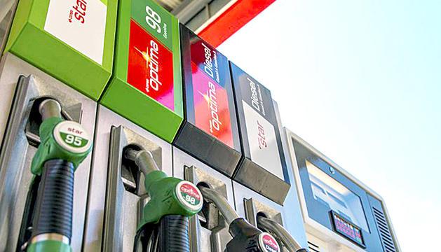El preu del carburant va baixar al juny.
