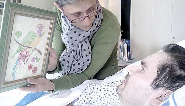 Vicent Lambert va patir un accident de trànsit l'any 2008.