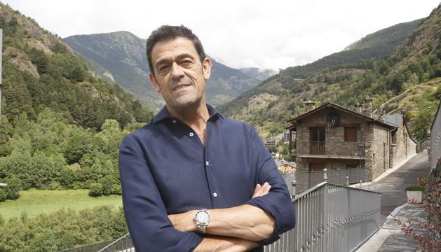 El cònsol major d'Ordino, Josep Àngel Mortés