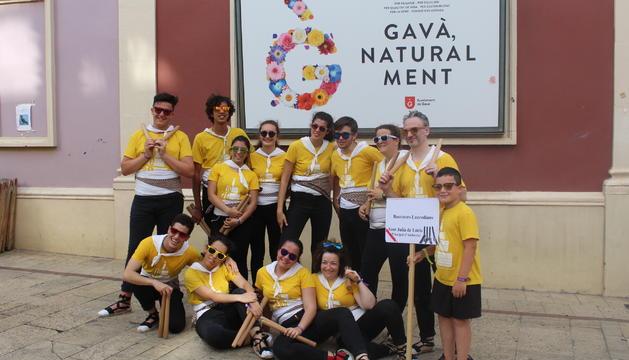 Els bastoners lauredians, convidats a Gavà