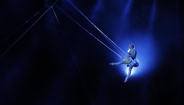 'STELAR'. La varietat d'acrobàcies i una música èpica van caracteritzar el darrer espectacle de la companyia quebequesa sota el format Scalada.