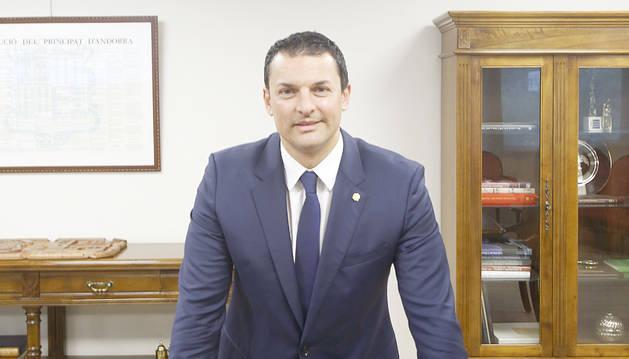 El ministre de Presidència i número dos de l'executiu, Jordi Gallardo.