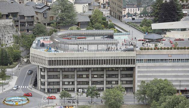 Centre d'Andorra la Vella.