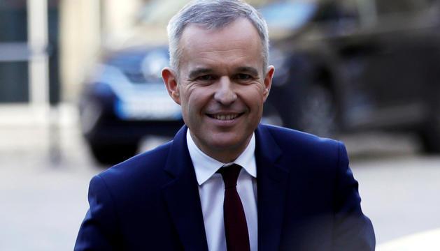 El ministre gal de la Transició Ecològica, François de Rugy.