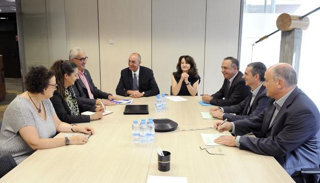 Reunió de Mobilitat, Servei Català de Trànsit, policia i mossos d'esquadra aquest matí