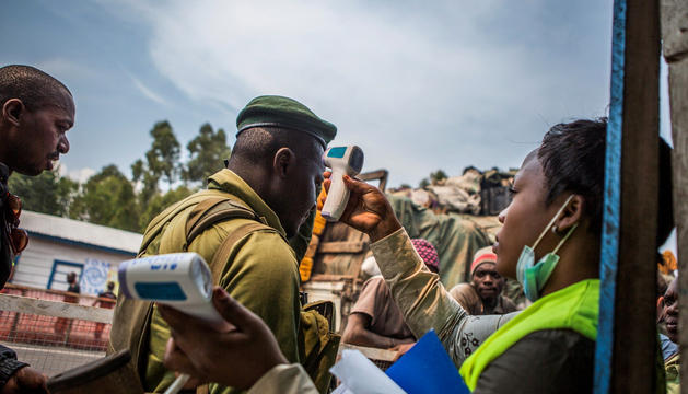 Brot d'ebola a la República Democràtica del Congo.