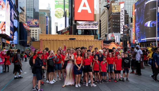 El Cor dels Petits Cantors, de gira a nova York