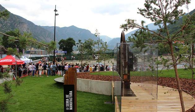 Santa Coloma estrena el Parc de la Serradora