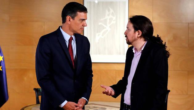 Pedro Sánchez vol un govern sense Pablo Iglesias.