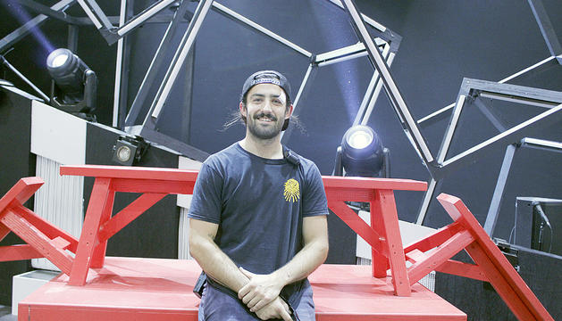 Nico Bordes és l'únic andorrà que treballa al Cirque du Soleil