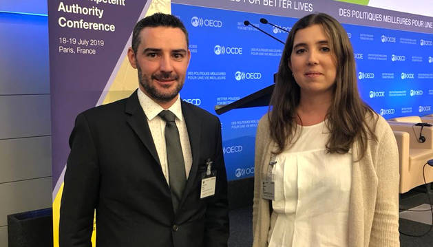 Marc Ballestà a l'OCDE.