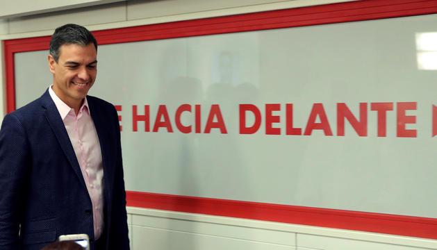 La investidura de Pedro Sánchez com a president del govern espanyol, cada cop més a prop.